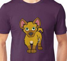 Gold Hyena Cub Unisex T-Shirt