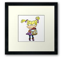 Cookie Girl Framed Print