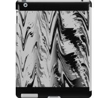 Abstract black & white 355H iPad Case/Skin