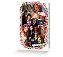 X-files Dana Scully - Collage Part 2 Greeting Card