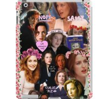 X-files Dana Scully - Collage Part 2 iPad Case/Skin