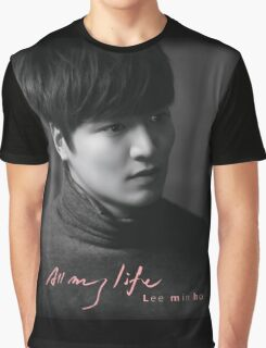 Lee Min Ho All My Life Graphic T-Shirt