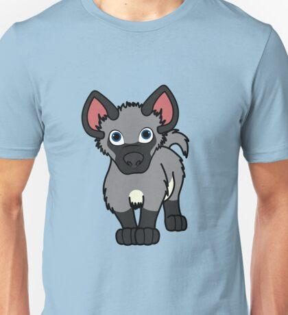 Gray Hyena Cub Unisex T-Shirt