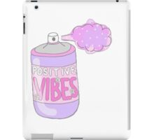 POSITIVE VIBES iPad Case/Skin