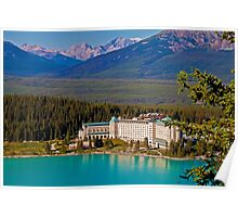 Canada. Lake Louise. Chateau Lake Louise. Poster