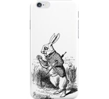 The White Rabbit Phone case  iPhone Case/Skin