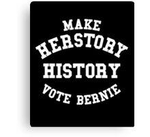 Make HerStory History Canvas Print