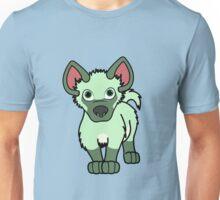 Light Green Hyena Cub Unisex T-Shirt