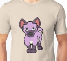 Light Purple Hyena Cub Unisex T-Shirt