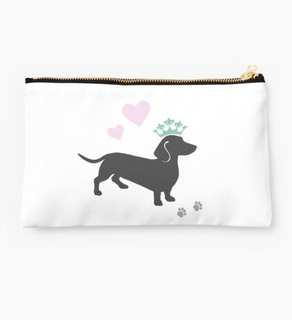 The Royal Dachshund Studio Pouch