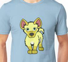 Yellow Hyena Cub Unisex T-Shirt