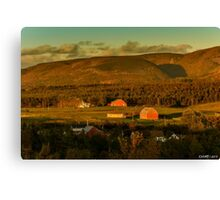Evening is Coming to Cheticamp Canvas Print