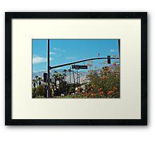 E Palm Canyon Drive (Palm Springs) Framed Print
