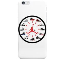 Jordan Clock iPhone Case/Skin