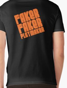 Faker, Faker, Playmaker Mens V-Neck T-Shirt