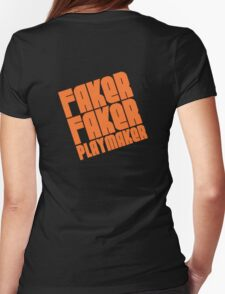 Faker, Faker, Playmaker Womens Fitted T-Shirt