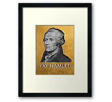 Yay Hamlet Framed Print