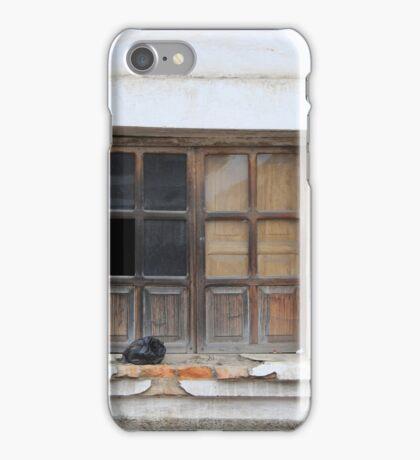 Broken Window and Trash iPhone Case/Skin
