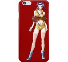 Faye Valentine from the Anime and/or Manga Cowboy Bebop; orignal digital painting iPhone Case/Skin