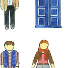 Doctor Who 11 Characters - Set #4 by RiverbyNight