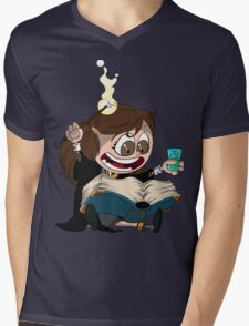 Hermione reads a Book Mens V-Neck T-Shirt