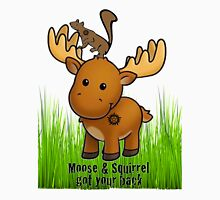 Moose and Squirrel Unisex T-Shirt