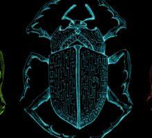 Labyrinth Scarab Beetles Sticker