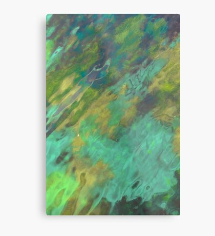 The Tranquil Sea Metal Print