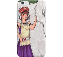 The Princess and the Wolf iPhone Case/Skin