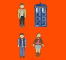 Doctor Who 11 Characters - Set #4 Kids Tee
