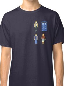 Doctor Who 11 Characters - Set #4 Classic T-Shirt