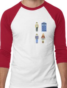 Doctor Who 11 Characters - Set #4 Men's Baseball ¾ T-Shirt