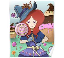 Lollipop Witch Poster