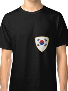 South Korea Shield Flag Classic T-Shirt