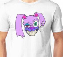 Crazy Bunny (Lavender) Unisex T-Shirt