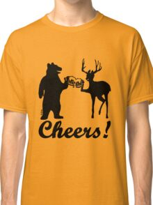 Bear, deer, beer, & cheers Classic T-Shirt