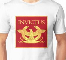Invictus Eagle on Red Unisex T-Shirt