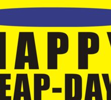 leap day Sticker