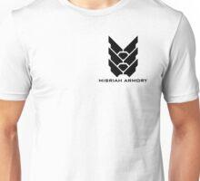 Halo - Misriah Armory (Black Logo) Unisex T-Shirt