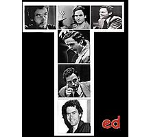 Ted Bundy Serial Killer Photographic Print