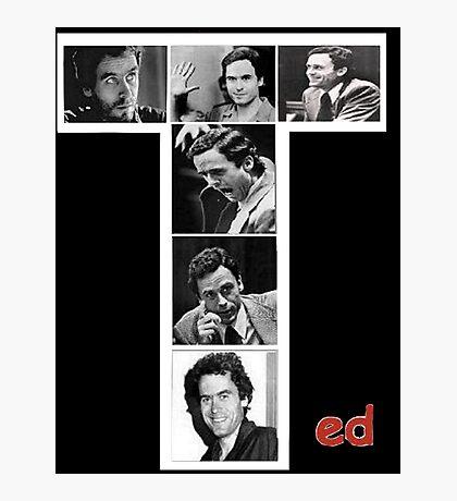 Ted Bundy Serial Killer Photographic Print
