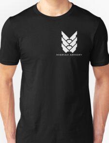 Halo - Misriah Armory (White Logo) Unisex T-Shirt