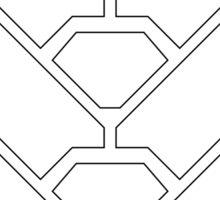 Halo - Misriah Armory (White Logo) Sticker