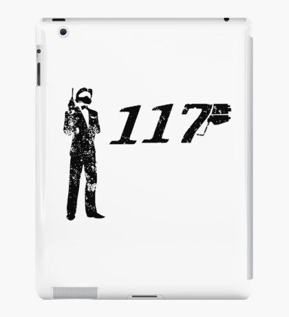 Agent 117 iPad Case/Skin