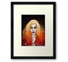 Incendio Framed Print