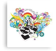 Dee Jay Bliss Vector Canvas Print