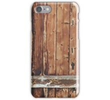 Aged wood iPhone Case/Skin
