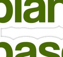 I Am Plant Based Sticker