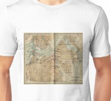 Vintage Map of Ottawa Canada (1894) Unisex T-Shirt