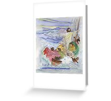 But the righteous will live by his faith. Greeting Card